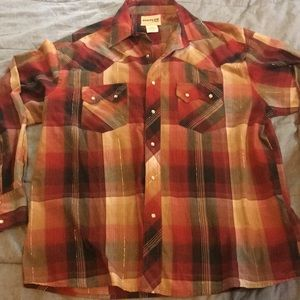 Wrangler Vintage country western dress shirt